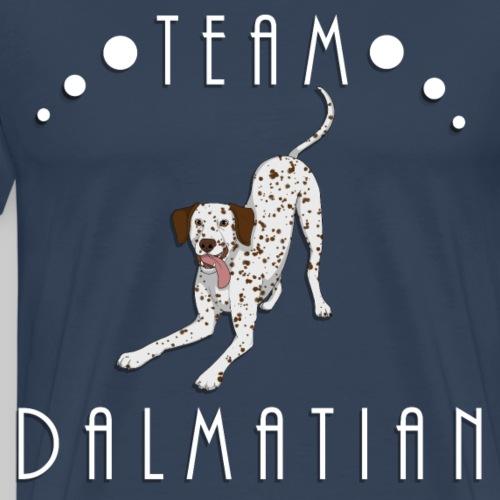Team Dalmatian - Liver and White - T-shirt Premium Homme