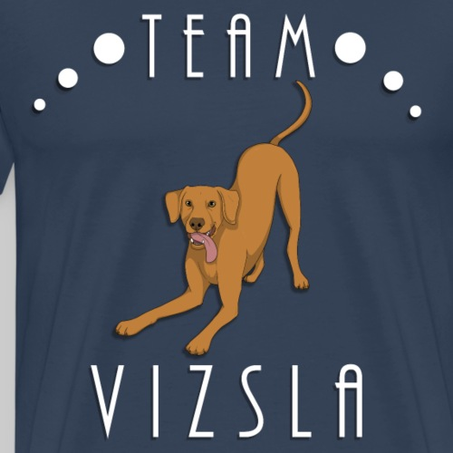 Team Vizsla - Smooth Coat - T-shirt Premium Homme