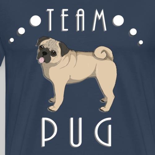 Team Pug - fawn - T-shirt Premium Homme