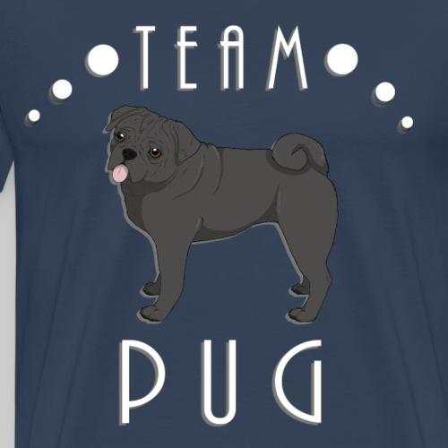 Team Pug - black - T-shirt Premium Homme
