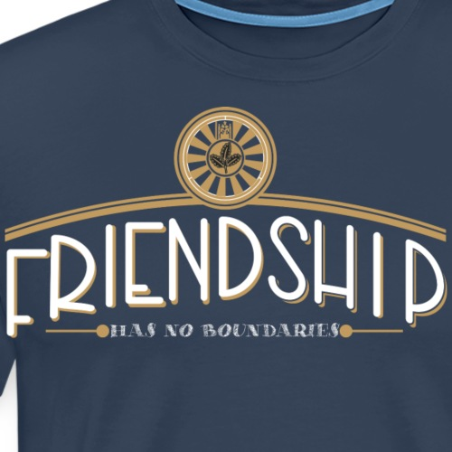 friendship has no boundaries - Männer Premium T-Shirt