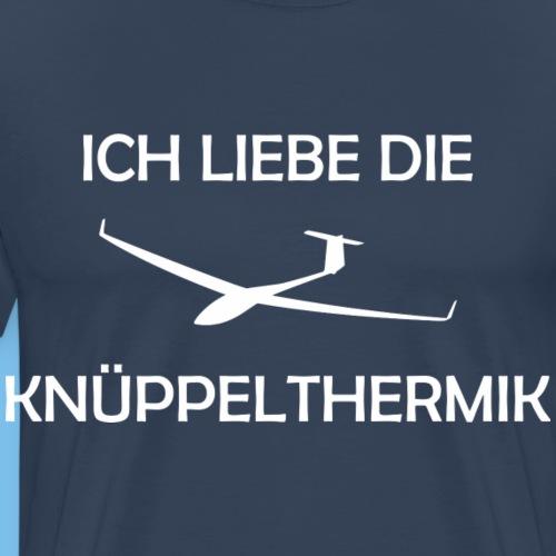 knüppelthermik lustig Segelflieger Geschenkidee - Männer Premium T-Shirt