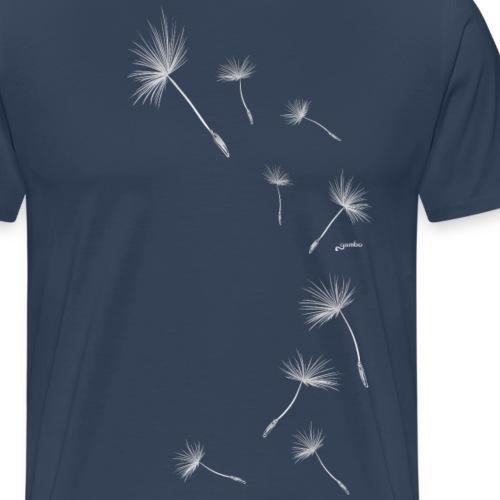 Pusteblume Design 1 - Männer Premium T-Shirt