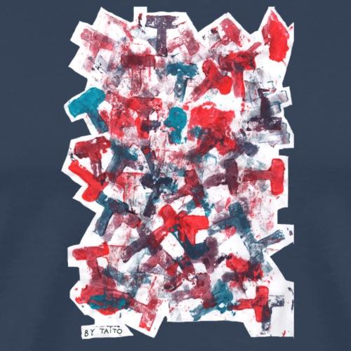 Color T BY TAiTO - Miesten premium t-paita