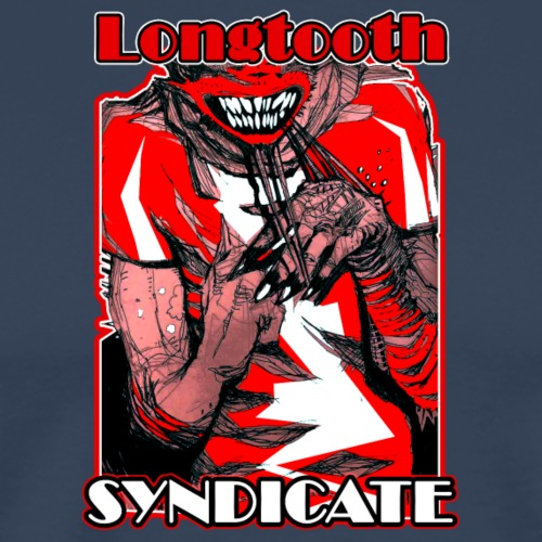 Longtooth Syndicate - Camiseta premium hombre