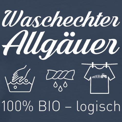 Waschechter Allgäuer weiss - Männer Premium T-Shirt