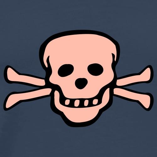 skull tattoo style - Männer Premium T-Shirt