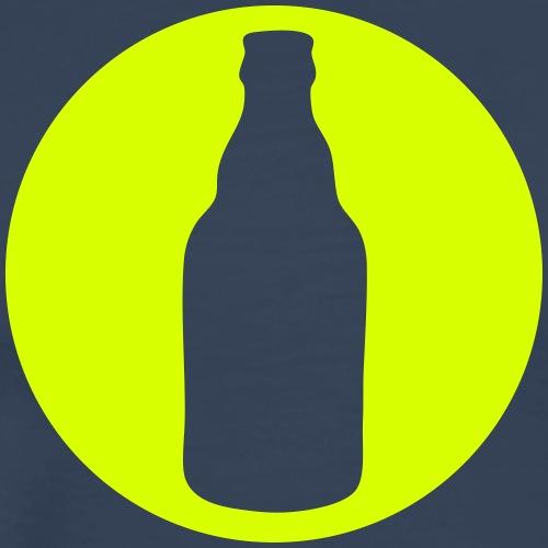 Bierflasche - Icon - Männer Premium T-Shirt