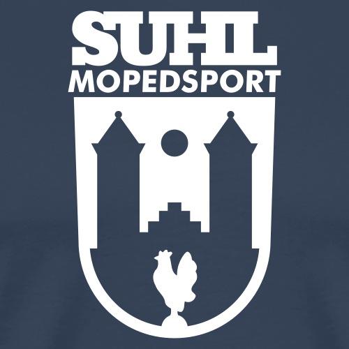 Suhl Mopedsport Hahn Logo - Men's Premium T-Shirt