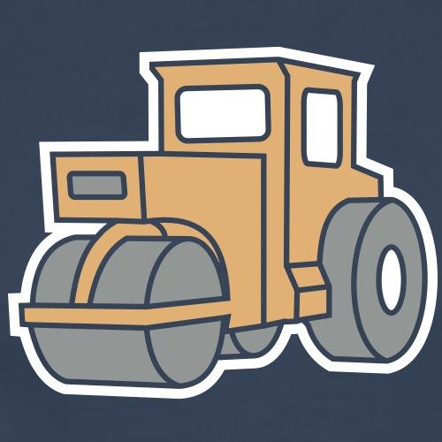 3 col - Dampfwalze Traktoren Steam-powered rollers - Männer Premium T-Shirt