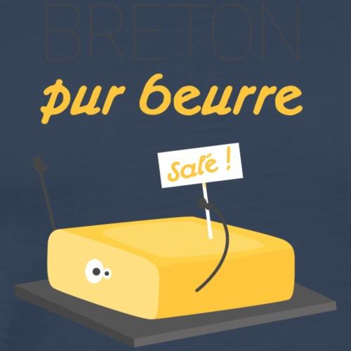 Breton Pur Beurre… salé ! - T-shirt Premium Homme