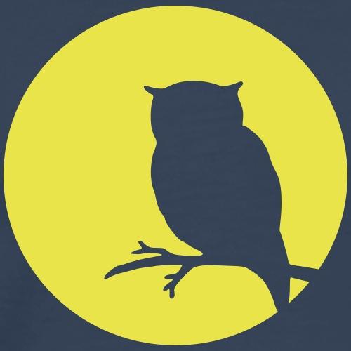 Moon owl - Männer Premium T-Shirt