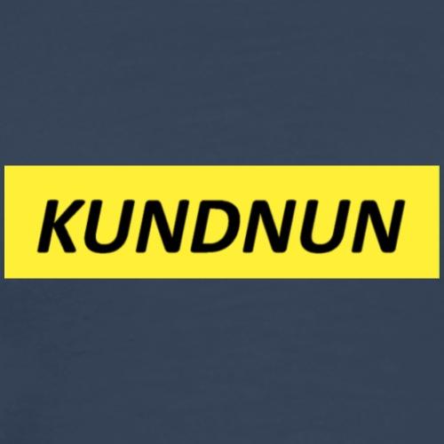 Kundnun official - Mannen Premium T-shirt