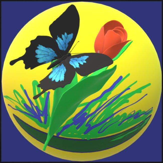 Farfalla e Tulipano2