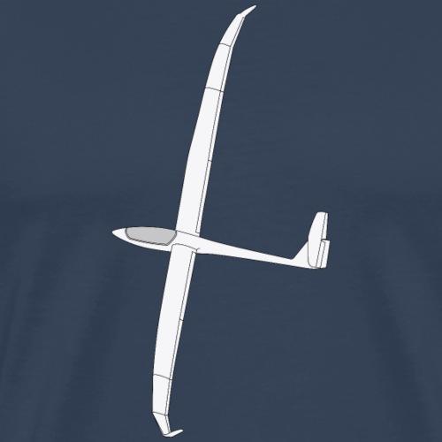 Ventus (grayscale) - Mannen Premium T-shirt