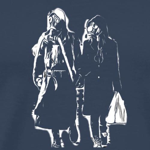 Gasmaske,virus,covid 19,corona , anticapitalism - Männer Premium T-Shirt