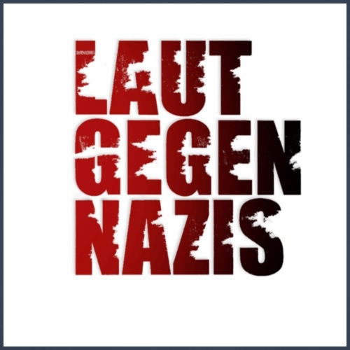 Unser offizielles Logo von Laut gegen Nazis - Männer Premium T-Shirt