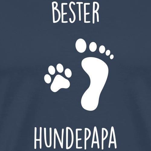 Bester Hundepapa - Männer Premium T-Shirt