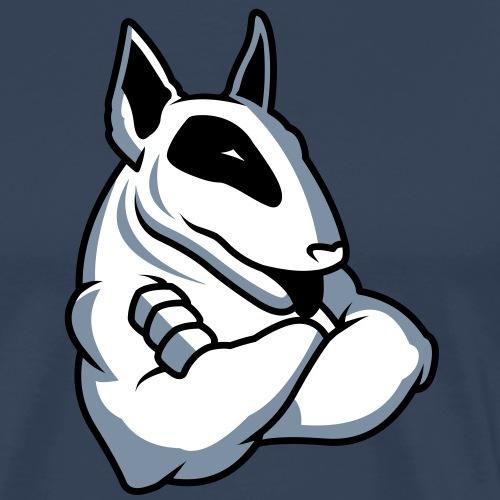 Bullterrier Maskottchen 3c - Männer Premium T-Shirt