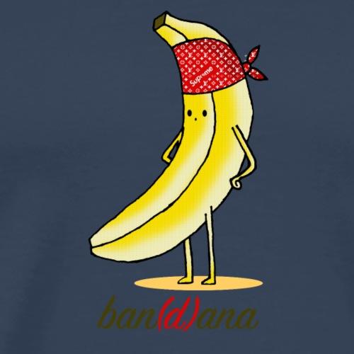 Eine Banane mit einem Kopftuch - Männer Premium T-Shirt
