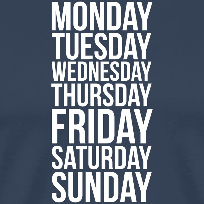 Days of the Week