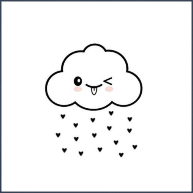nuage coeur