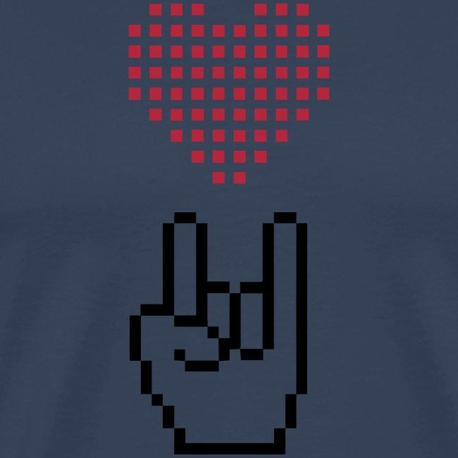 Pixel Love Rock