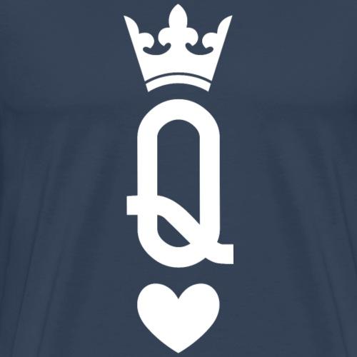 Queen of Cards (dark) - Men's Premium T-Shirt