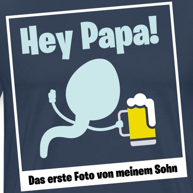 Geschenk für werdende Väter Bier Papa Schwanger