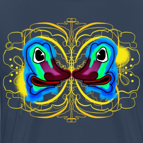 Symetri By TheRawburt - Premium-T-shirt herr