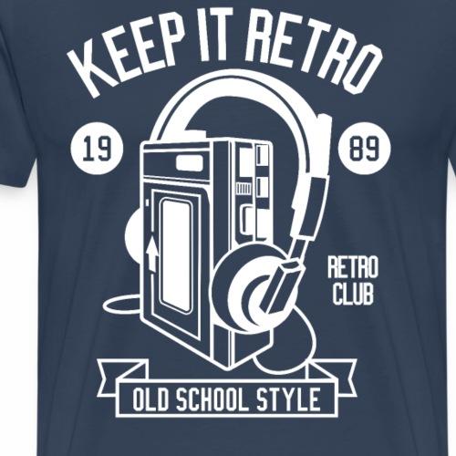 Keep it Retro 1989 Shirt I Love the 90s Oldschool - Männer Premium T-Shirt