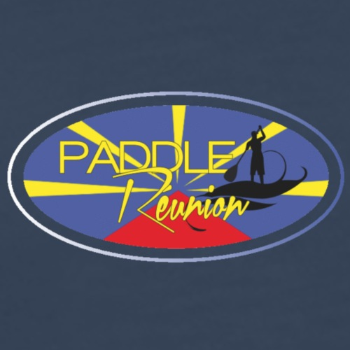 Drapeau Paddle Reunion - T-shirt Premium Homme