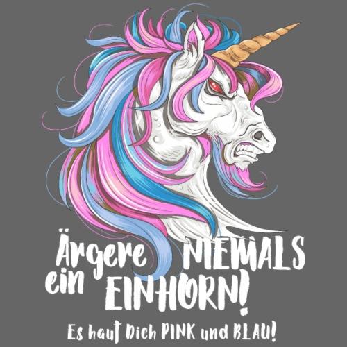 Funny Fantasy Aergere NIEMALS ein EINHORN 2 - Männer Premium T-Shirt