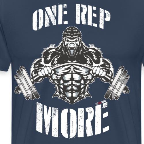 Una Repetición más en el gimnasio - Camiseta premium hombre