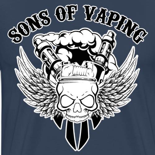 Sons Of Vaping - Maglietta Premium da uomo