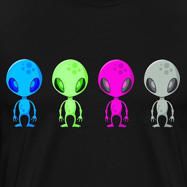 Multicolored Aliens