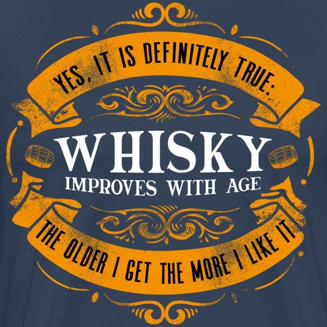 Whisky Improves with Age