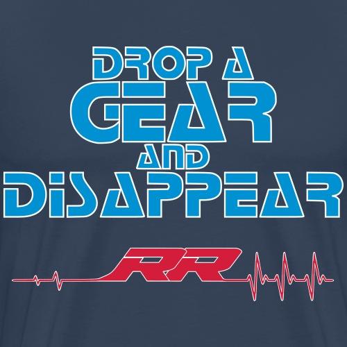 drop a gear RR puls Rand - Männer Premium T-Shirt