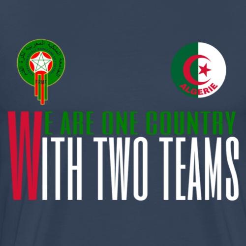 Equipe Algerie Maroc - T-shirt Premium Homme