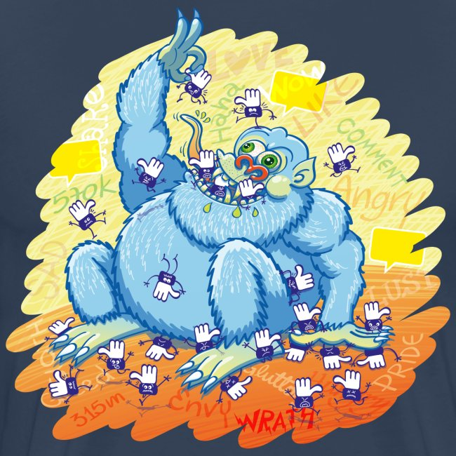 The insatiable blue monster of social networks
