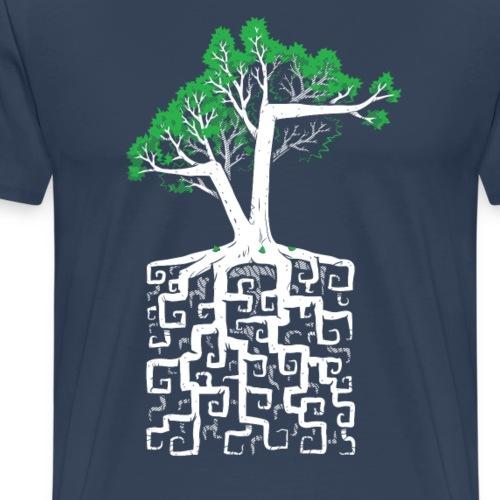 Square Root - Men's Premium T-Shirt
