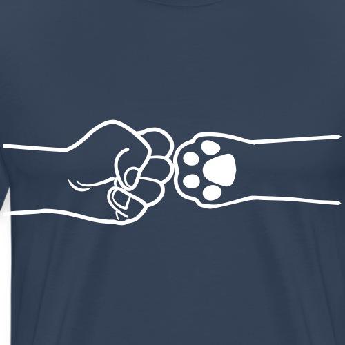 pawbump - Männer Premium T-Shirt