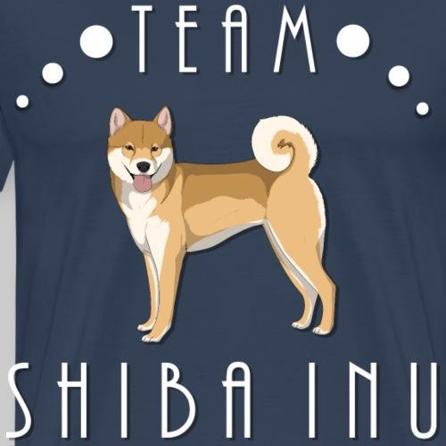 Team Shiba Inu - Red - T-shirt Premium Homme