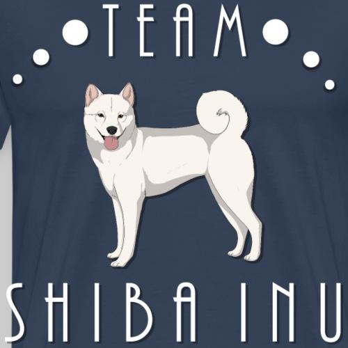 Team Shiba Inu - White - T-shirt Premium Homme