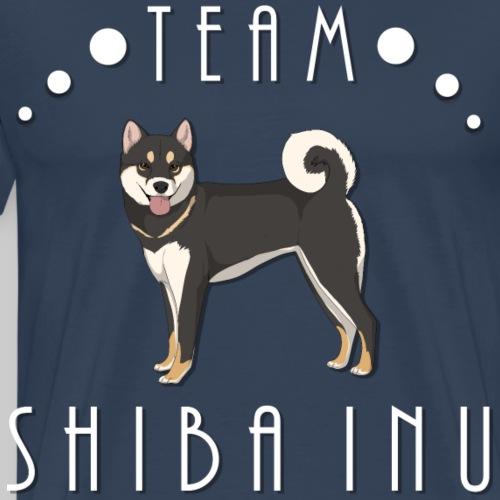 Team Shiba Inu - Black and Tan - T-shirt Premium Homme