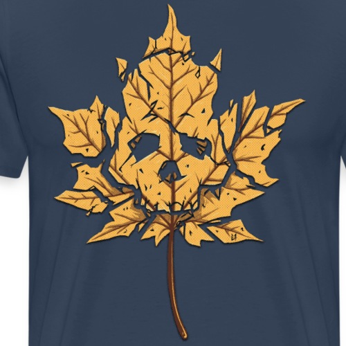 Dead Leaf - Men's Premium T-Shirt