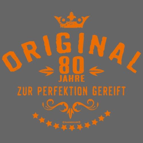 Original 80 Jahre zur Perfektion gereift - - Männer Premium T-Shirt