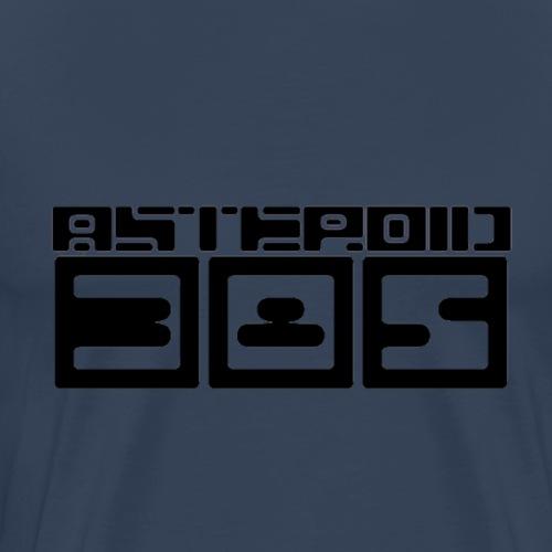 Asteroid 385 Logo - Männer Premium T-Shirt