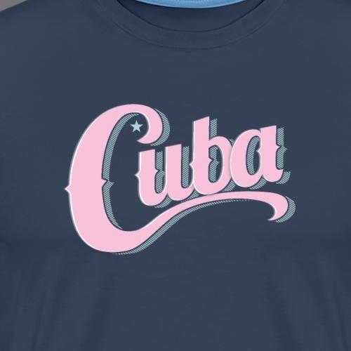 CUBA VINTAGE Tee Shirt - T-shirt Premium Homme