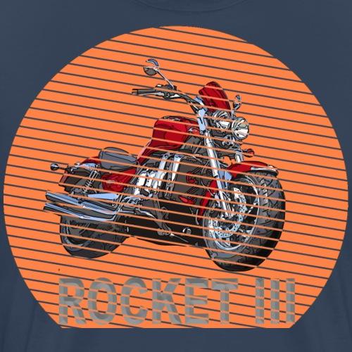 Rocket 3 Urrocket Classic Sun – Sonne - Männer Premium T-Shirt